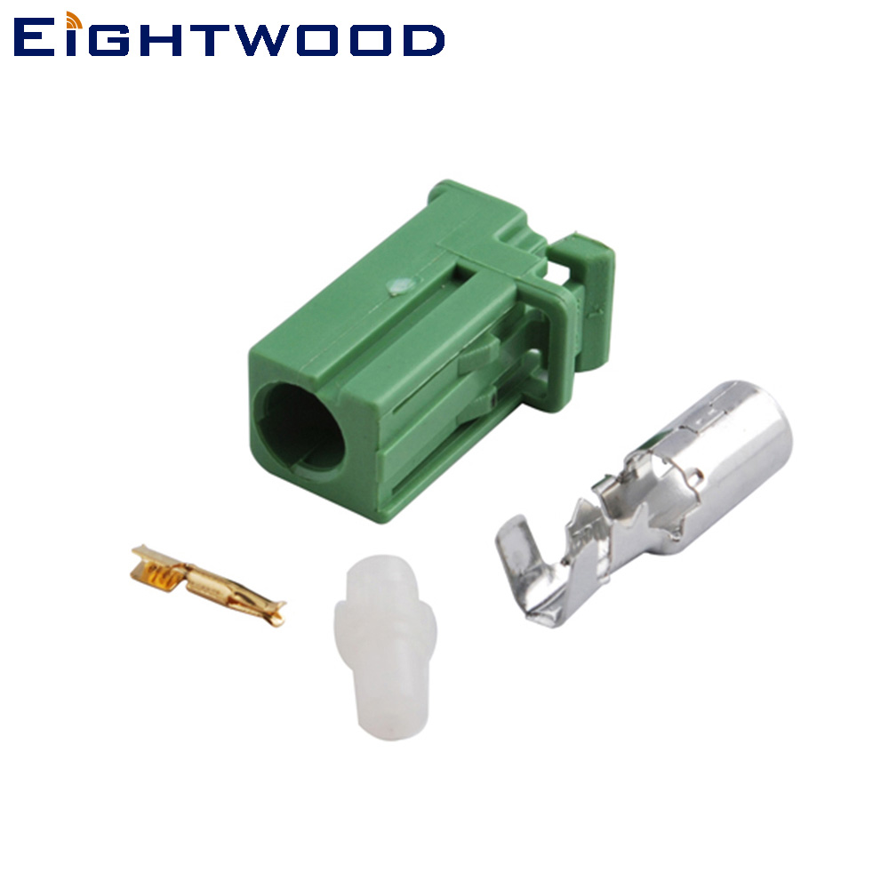 Eightwood Green AVIC Crimp Jack Conector para HRS Pioneer GPS Antena