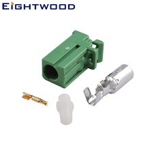 Eightwood Green AVIC Crimp Jack Connector for HRS Pioneer GPS Antenna