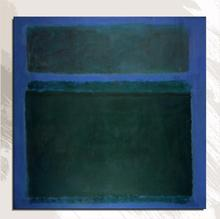 100%handpainted Mark Rothko Abstract Oil Painting on Canvas Unframed painting art Home decor