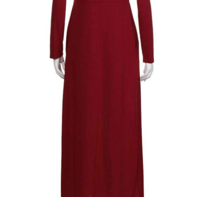 55 Piece Scaling Women Autumn Casual SolidSleeve Floor Length Batik Turn down Collar Turn down Collar