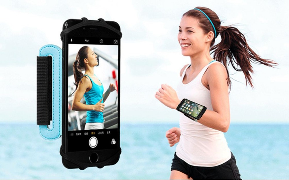 SzBlaZe Professional Rotatable Running Bag Wrist Band Arm cell phones Holder Sport pocket accessories For Gym Fitness Jogging 8