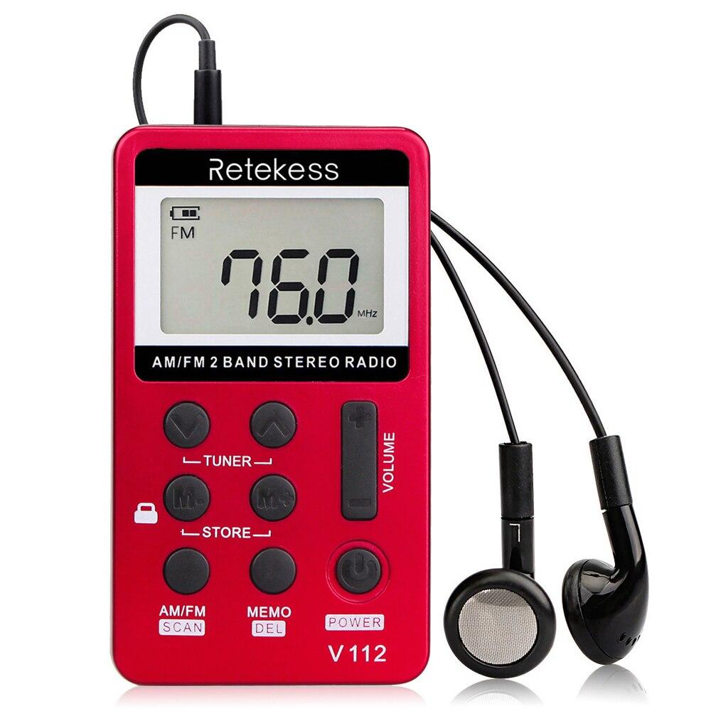 Unterhaltungselektronik Sonderabschnitt Retekess Tasche Mini Radio Fm/am Stereo Radio Tragbare Digitale Tuning 1,5 Zoll Lcd Display Bildschirm Radio Fm Dropship Radio
