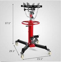 Jaque hidráulico da transmissão da fase de vevor 1100 lb 2 com grua do elevador das rodas do giro de 360 °