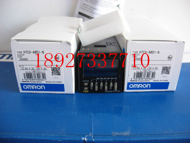 [ZOB] The new new original Omron omron digital counter H7CX-AWD1-N relay [zob] new original omron omron solid state relay g3na 290b utu 2 dc5 24