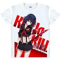 KILL La KILL T Shirts Matoi Ryuuko Jyakuzure Nonon Summer Style White T Shirt For Men