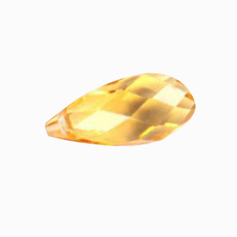 10 teile/satz! Briolette Anhänger Wassertropfen Österreichischen kristall perlen 6*12mm Teardrop glasperlen für schmuck machen armband DIY