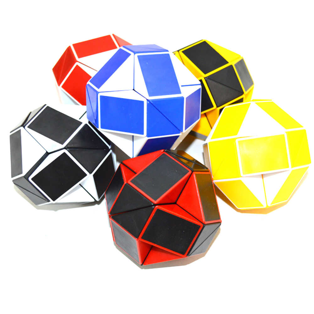 Magic cubes, puzzle rubiks cube adult children educational toys Games Plastic creativity  imagination fun baby kids rotate Toy