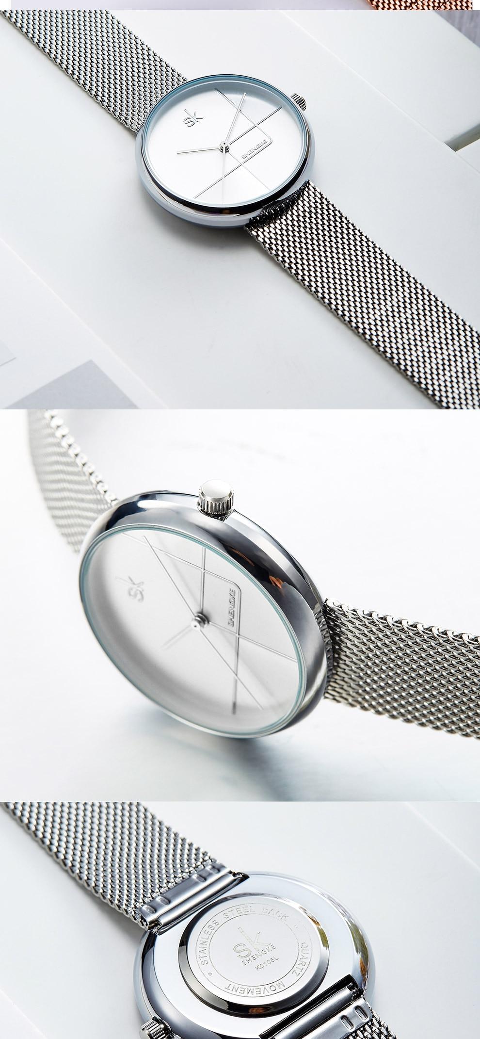 Sk Creative Luxury Women's Bracelet Watch 12