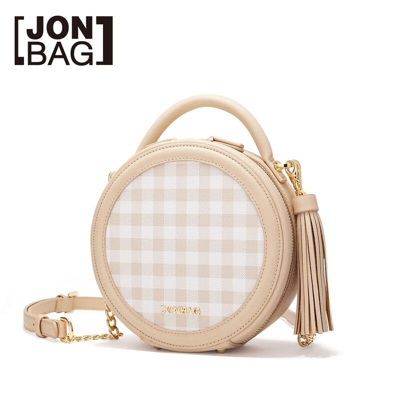 JONBAG frauen kleine tasche weibliche geschlungen nette 2019 neue stil modelle sommer sommer kette kleine runde tasche handtasche - 2