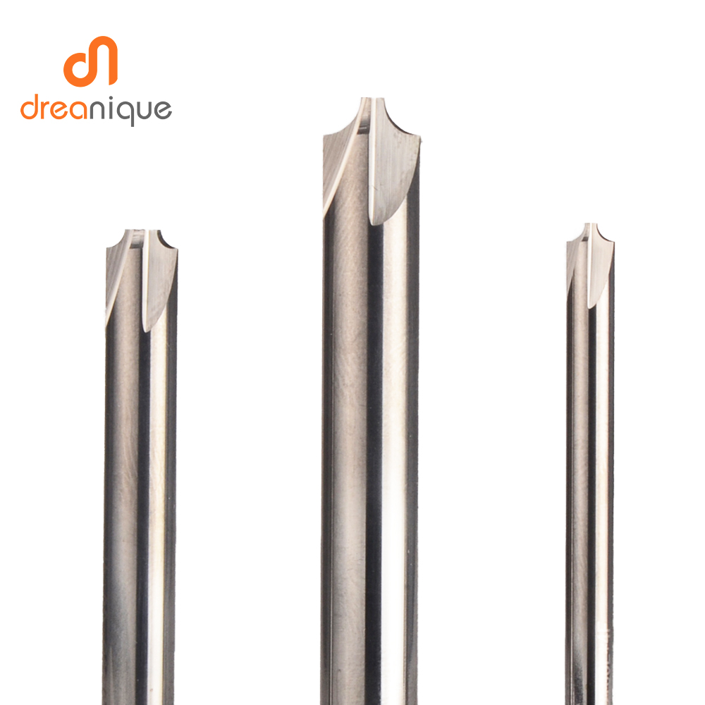 Купить с кэшбэком 1pc chamfering milling cutter 4-14mm deburring solid carbide end mills cnc Router Bit 90 degree inner radius chamfer tools
