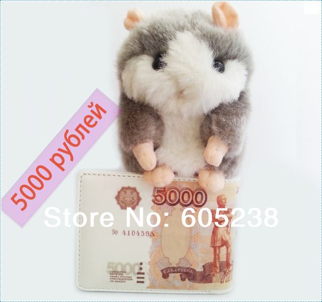 Wholesale 10 pieces / lot  5000 RUBLE BILL MONEY WALLET 5000 RUB / dollar wallet