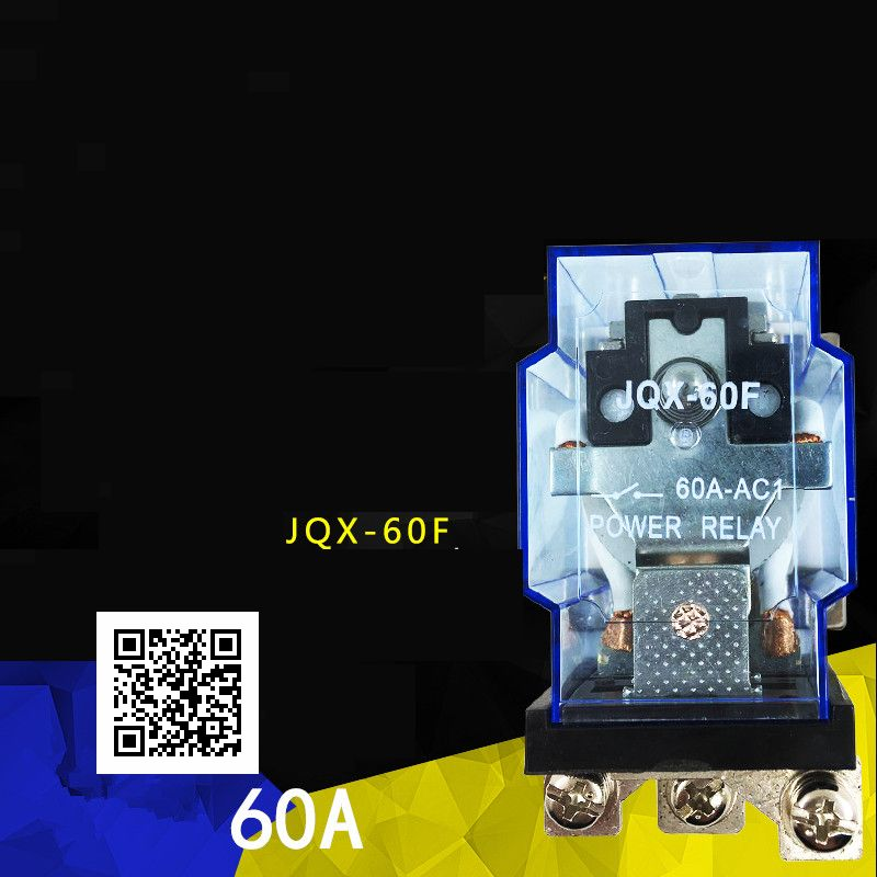 Original JQX-60F/1Z 1Z 60A-leistungsrelais DC12V DC24V AC110V AC220V Großen strom 40F-58F JQX-60F