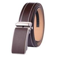 100 Genuine Cow Leather Belt Men Luxury Belt Designer High Quality Automatic Buckle Belts Leather Waist
