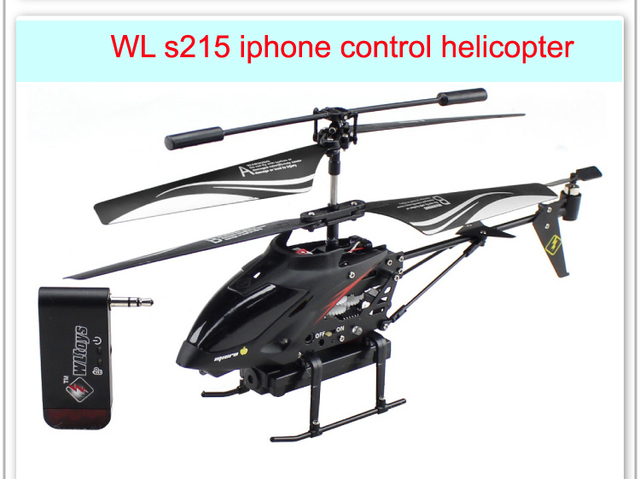 IPhone/iPad/iPod helikopter met camera 3CH WL s215 rc helicopter P3