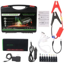 68000mAh Battery Charger Portable Mini Car Jump Starter Booster Power Bank For 12V Car(China)