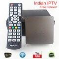 Caixa de IPTV indiano que suportam 300 mais canais indianos, apoio Super Sport Canais HD, melhor caixa de iptv indiano Livre Para Sempre