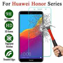 protective glass for huawei on honor 7a 7c 7x pro a7 c7 x7 6a 6c 6x 5a 5c 5x tremp tempered glas 7 6 5 a c x 7apro 7cpro 7xpro(China)