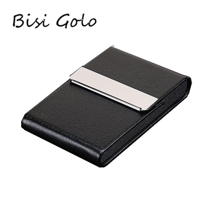 BISI GORO Men Credit Card Package Men Card Holder Men Business Card Case Women Business Card Holder Porte Carte 8 Colors ...