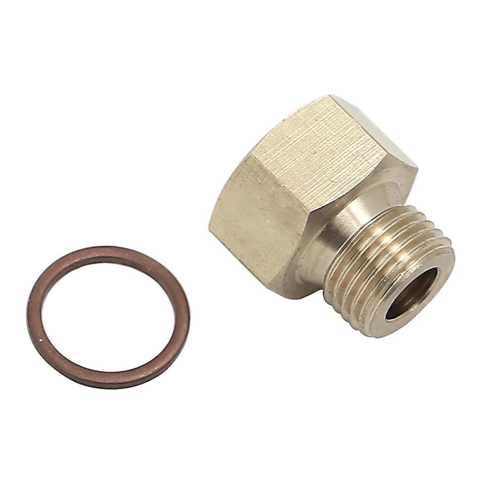 Oil Pressure Temperature Metric Plug Adapter Gauge Sender Sensor  Bolts Screws 1/8