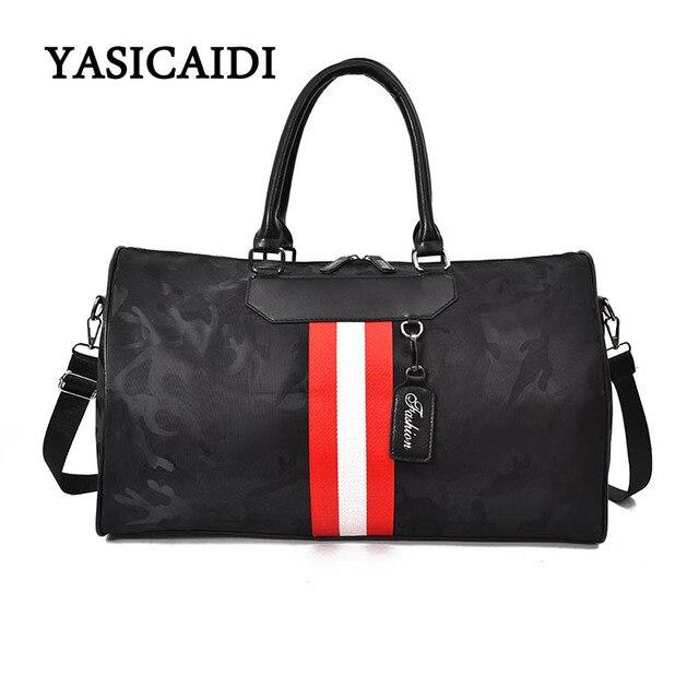 49f2e318d4 Best Price Waterproof Luggage Bag Large Capacity Men Travel Bags Women  Weekend Travel Duffle Tote Bags ...