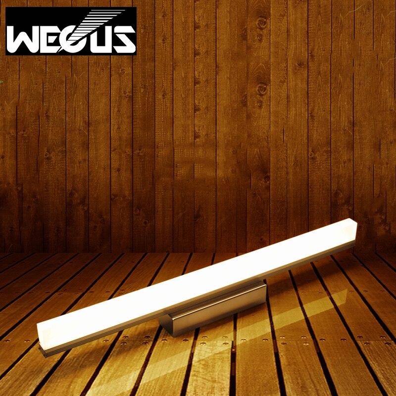 Зеркало LED Light 505 мм AC90-260V 12 Вт современные косметические акриловые настенный светильник водонепроницаемый освещения ванной комнаты