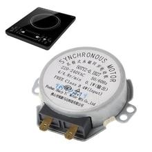 220-240 в лоток для микроволновой печи синхронный двигатель для частей двигателя микроволновой печи