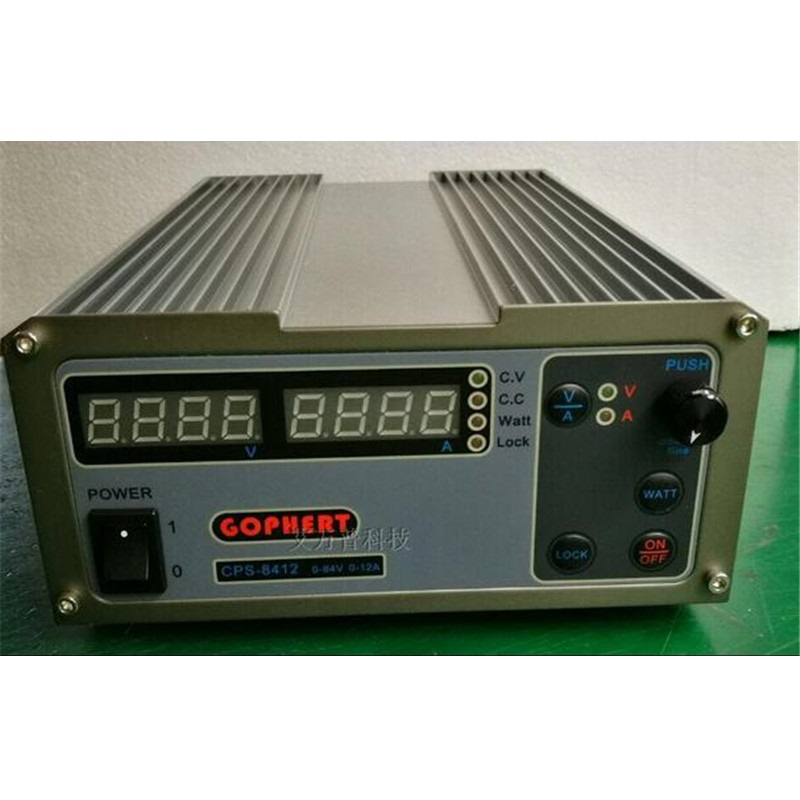 220V CPS-8412 1008W Digital Adjustable DC Power Supply OVP/OCP/OTP MCU Active PFC 84V12A 170V-264V 1 pc cps 3220 precision compact digital adjustable dc power supply ovp ocp otp low power 32v20a 220v 0 01v 0 01a