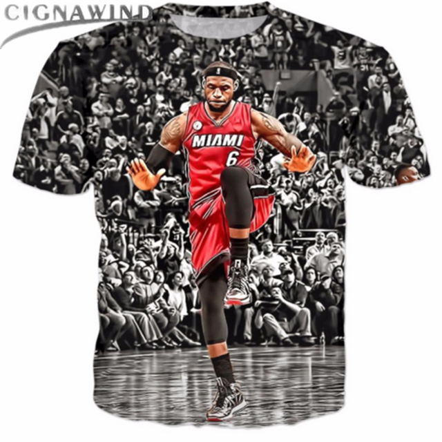 91223ad1b7bd New funny super star LeBron James printed 3d t shirts men/women t shirt men t  shirts casual homme clothing unisex tees tops