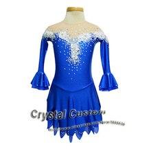 Custom Ice Figure Skating Dresses For Women New Brand Vogue Figure Skating Dress Competition Dress DR2517
