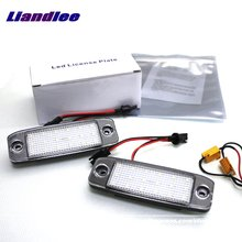 Liandlee For KIA Carens / Ceed / Rondo / LED Car License Plate Light / Number Frame Lamp / High Quality LED Lights