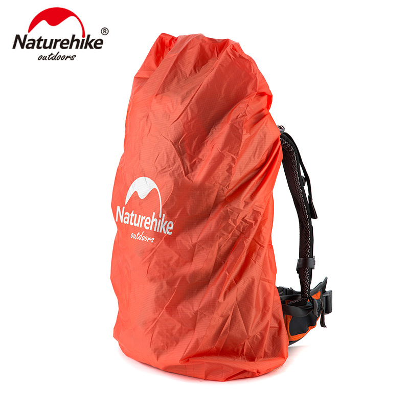 NatureHike Bag Cover 20~75L Waterproof Rain Cover For Backpack Camping Hiking Cycling School Backpack Luggage Bags Dust Covers