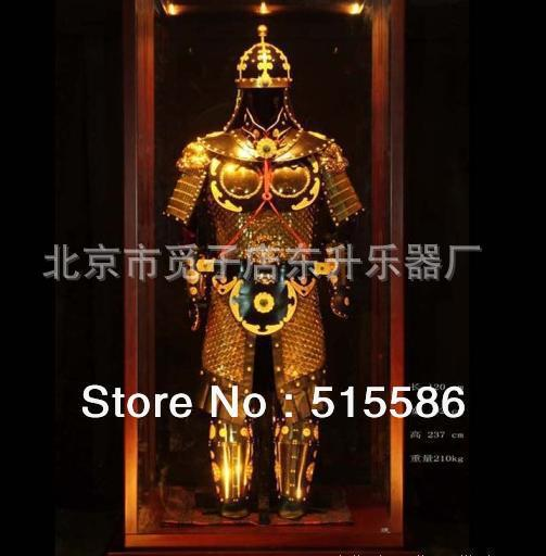 Art Chinese Han Tang Dynasty Gold suit of Armor wearable  Armor Protective Gear