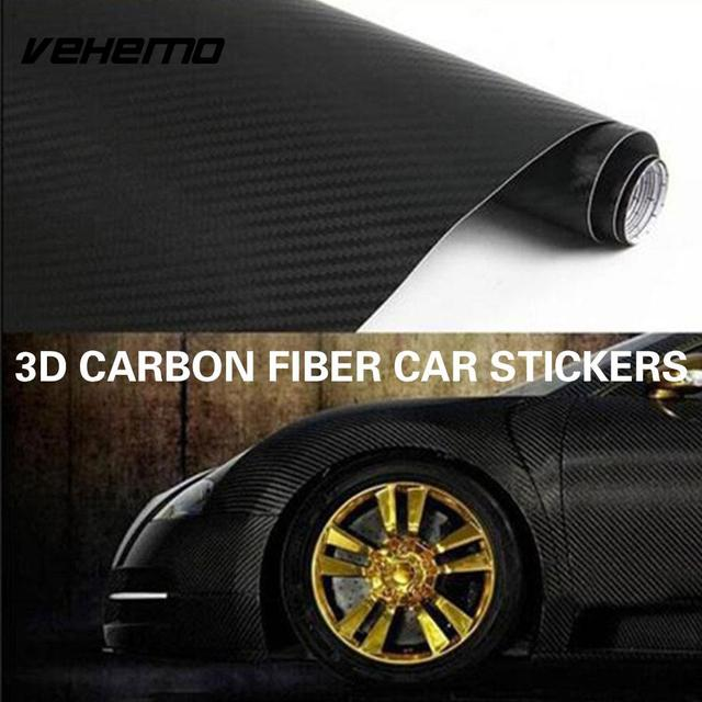 Carbon Fiber High Gloss Universal Car Film Paint Protection Side