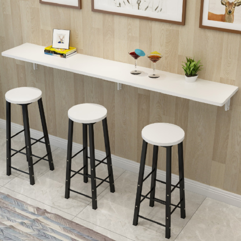 DIY 스틸 접이식 바 테이블 랙 테이블 바 브래킷 가족 공용 길이 25cm 30cm 35cm 40cm 지원 무게 80kg 무료 배송