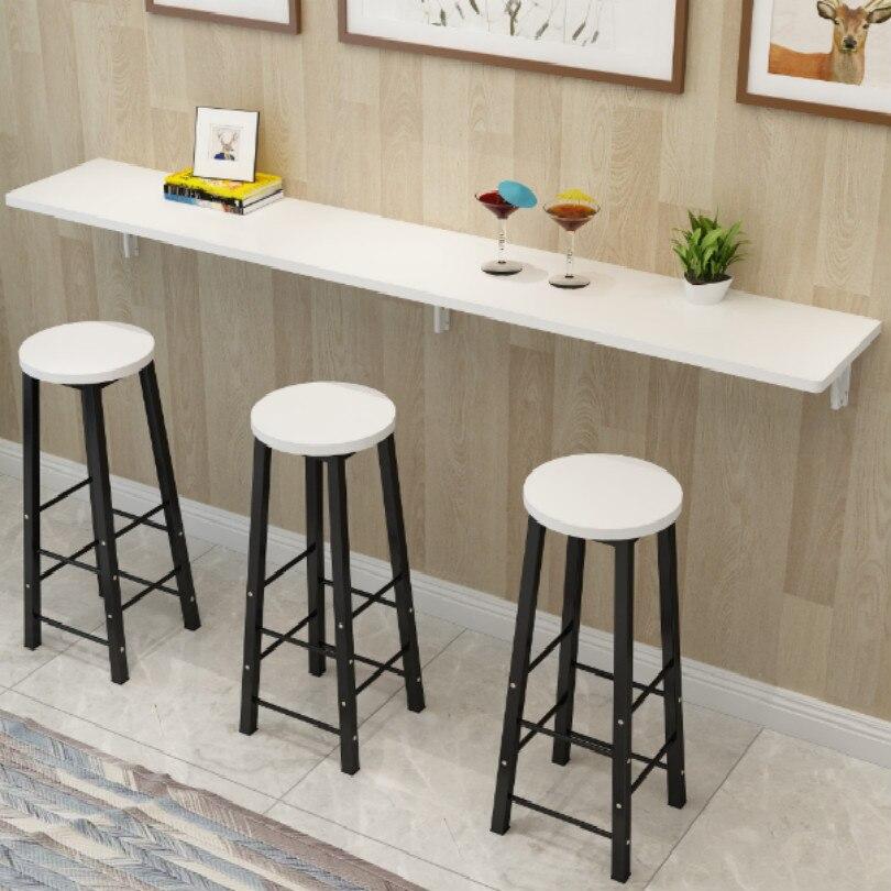 Diy aço dobrável barra de mesa rack suporte barra de mesa família público comprimento 25cm 30cm 35cm 40cm suporte peso 80kg frete grátis
