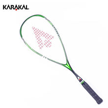 Quality Karakal Squash Racket With Bag Carbon Squash Racquet Yellow Green Squash Racquet With Racket Bag Karakal Squash Racquets(China)