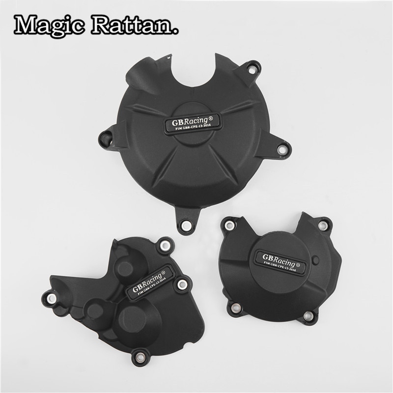 Motorcycle Engine Case Cover Set Engine Cover Kit Protection Fit ZX-6R 2009-2016 motorcycle engine case cover set engine cover kit protection fit cbr1000 2008 2015