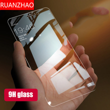 For iPhone 6 7 8 plus X Tempered Glass Film For iPhone X 8 7 6S Plus Screen Protector Toughened Phone Glass Cover Film XS Max XR