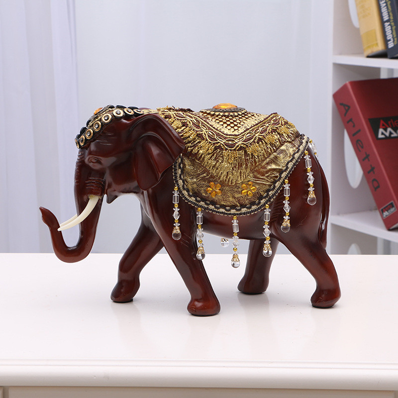 Modern Abstract Resin Elephant Statue Craft Decoration Statue Home Decoration Accessory Elephant Sculpture Animal GiftModern Abstract Resin Elephant Statue Craft Decoration Statue Home Decoration Accessory Elephant Sculpture Animal Gift