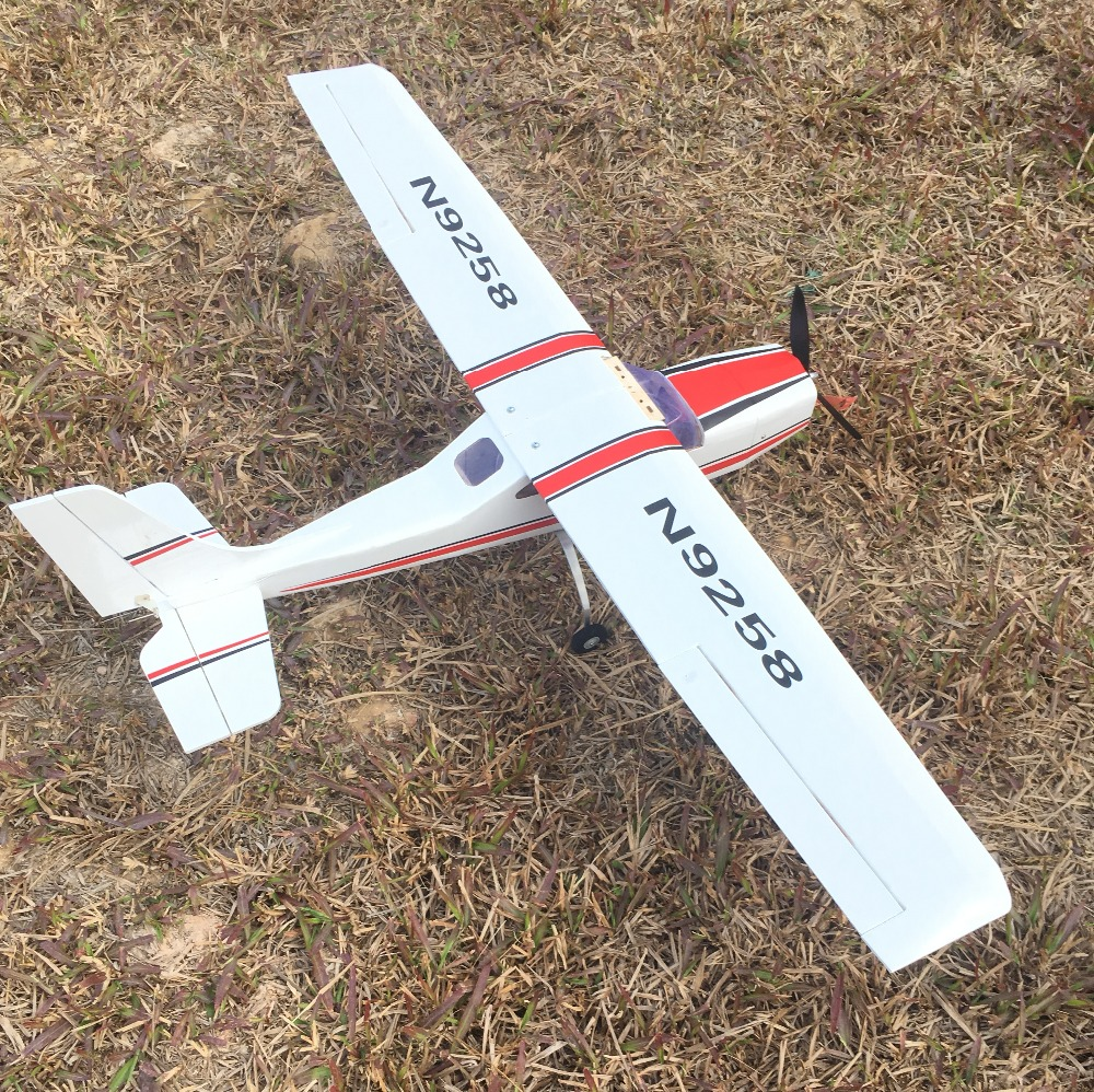 Image 2 - 1200mm DIY Balsa RC Plane Kit Cessna-in RC Airplanes from Toys & Hobbies