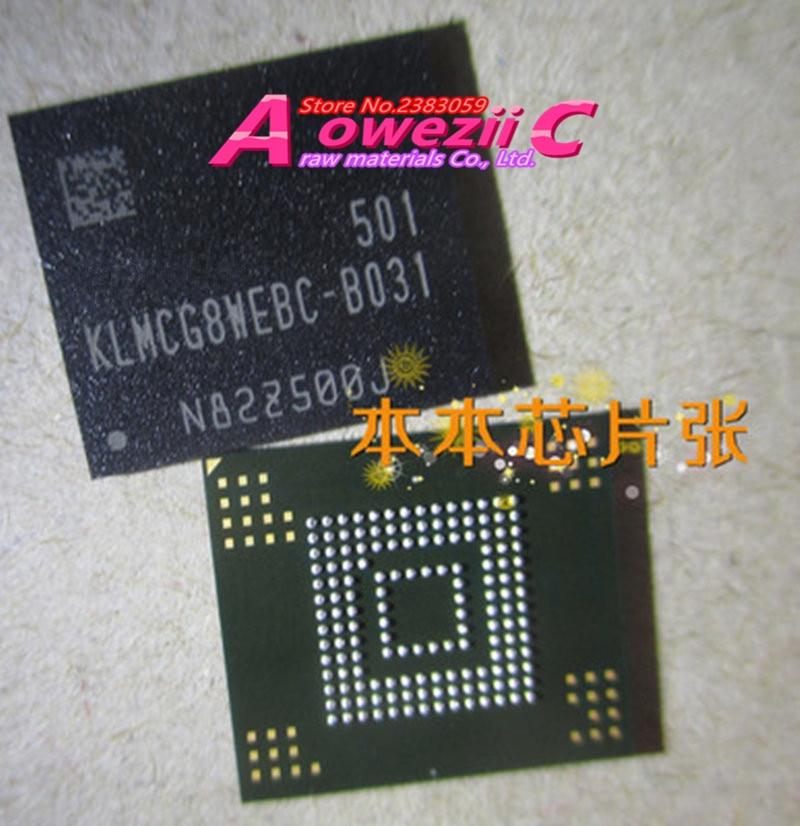 Aoweziic (1PCS) (2PCS) (5PCS) (10PCS) 100% new original KLMCG8WEBC-B031 BGA Memory chip KLMCG8WEBC B031 100% new original klmag2wemb b031 16g emmc bga klmag2wemb b031