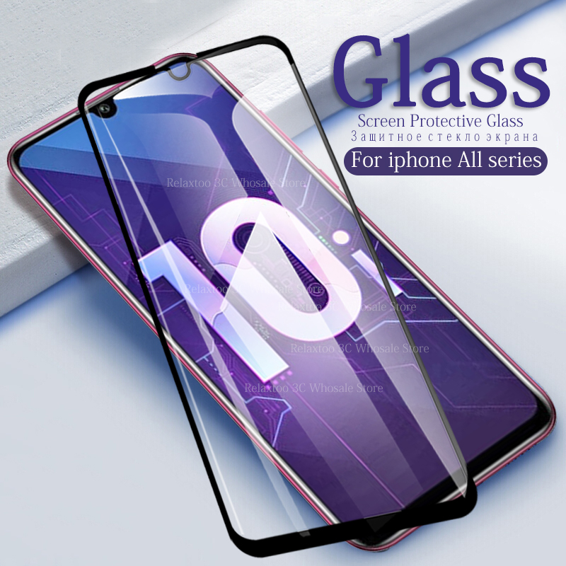 Full Cover Screen Protector On Honor 10i Tempered Glass For Huawei Honor 10 Lite Glass Honor 10 Light COL-L29 3D Protective Film