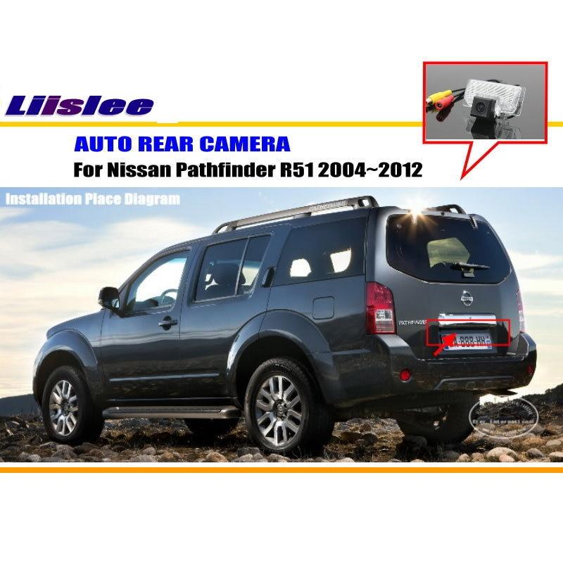 Liislee обратный Камера для Nissan Sylphy G11/Nissan Pathfinder R51/заднего Камера/фонарь освещения номерного знака OEM/Ночное видение