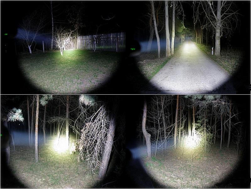 Sofirn SF11 Erős LED-es zseblámpa Taktikai AA fáklya Cree XPL - Hordozható világítás - Fénykép 6