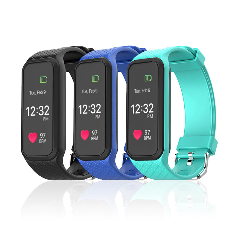 New Smart Band L38I Smart Heart Rate Monitor Bluetooth Smart Bracelet Smartwatch