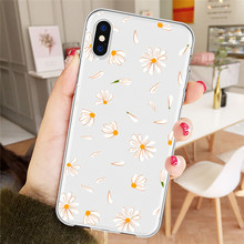 Daisy Flower Phone Cases iPhone 6 7 8 Plus X XR XS MAX