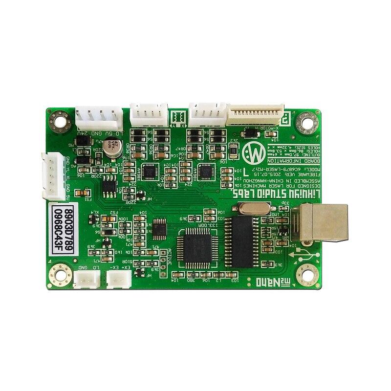 Micro laser gravure machine contrôle découpeuse LIHUIYU nano carte mère M2 vert