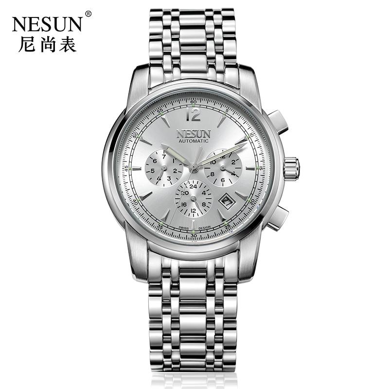 Luxury Brand NESUN Swiss Watch Automatic Mechanical 1