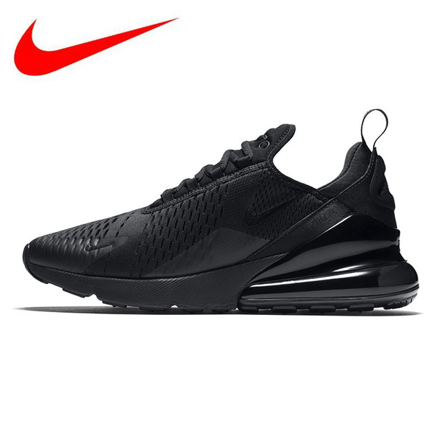 the best attitude b7e62 78113 D origine NIKE AIR MAX 270 Chaussures de Course des Hommes, Noir, absorption