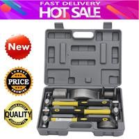 7pcs Hand Car Auto Body Work Hammer Dolly Tool for Fender Dent Repair Set Kit